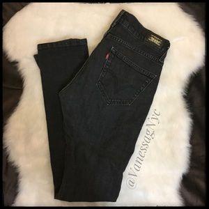 Levi's Tilted 504 Jeans Black Sz 5